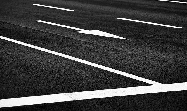 marquage au sol routier
